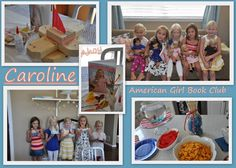 American Girl Book Club Meet Carolinie