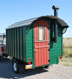 How to build your own gypsy wagon.