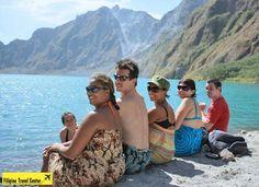 Climb Mount Pinatubo then refresh at the Crater Lake
