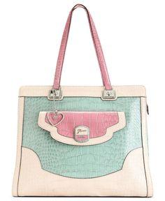 GUESS Handbag, Newlyn Satchel -   Faux leather