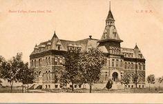 Grand Island Baptist College, Grand Island, NE, 1892-1931 Grand Island, Nebraska, Notre Dame, Life Is Good, Louvre, Colleges, History, Architecture, City