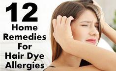 10 Amazing Home Remedies For Hair Dye Allergies | Top DIY Health & Home Remedies