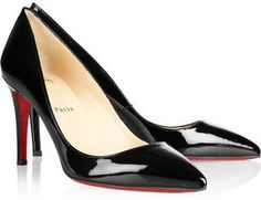 shopstyle.com: Christian Louboutin The Pigalle 85 patent-leather pumps
