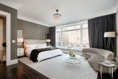 Toll Brothers - spacieuse chambre principale avec une vue impressionnante sur Park Avenue