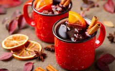 As the cooler temperatures settle in for the winter, it's time to cozy up with a cup (or two) of warm Spiced Mulled Wine! These delicious and easy Mulled Wine recipes are guaranteed to get you ready for the holidays! What Is Mulled Wine, Food Network Recipes, Wine Recipes, Soda Italiana, Spiced Wine, Mulling Spices, Dried Oranges, Fruit Slice, Fresh Cranberries