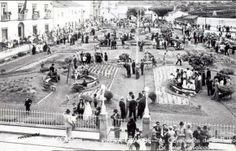 1930s,  Largo Hintze Ribeiro e Câmara Municipal de Ribeira Grande, Ilha de São Miguel.  O Largo Hintze Ribeiro na Cidade da Ribeira Grande nos anos 30 do Século passado.