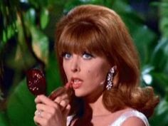 """LOVE Ginger from Gilligan's Island and her Tiffin logic: """"I may be stranded, but I must look fabulous, for I may be rescued at any moment!"""""""