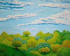 Arboleda  Óleo sobre lienzo  Año 2009   81x65cm   290€