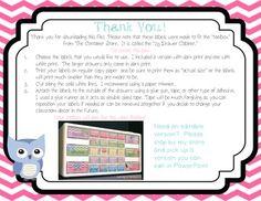 Owl Be Organized Freebie {Teacher Toolbox Labels}