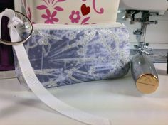 Lipstick Case Small Zippered Bag Lip Balm by PhenomenalWomenShop