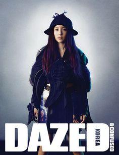 Dara - Dazed and Confused Korea - July 2013 South Korean Girls, Korean Girl Groups, 2ne1 Dara, Mode Kpop, Hip Pop, Sandara Park, Dazed And Confused, Photography Women, Artistic Photography