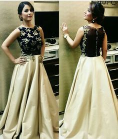 Unseen pic of from an event Mumbai Global Awards. Indian Wedding Gowns, Indian Gowns Dresses, Indian Outfits, Woman Dresses, Wedding Dress, Lehenga Top, Cape Lehenga, Latest Gown Design, Wedding Lehenga Designs