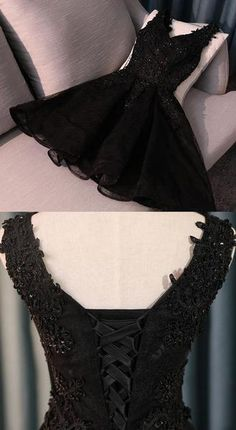 Elegant Prom Dresses, Lace Black Prom Homecoming Dresses Engrossing Short V-Neck Sleeveless Lace Up Dresses Shop for La Femme prom dresses. Elegant long designer gowns, sexy cocktail dresses, short semi-formal dresses, and party dresses. Cute Homecoming Dresses, Elegant Prom Dresses, Evening Dresses, Dress Prom, Sexy Dresses, Summer Dresses, Formal Dresses, Wedding Dresses, A Line Dresses