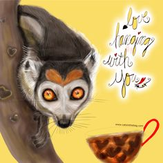 Love hanging with you! What my Coffee says to me July 9 - drink YOUR life in - Life is too short so hang out with love in your heart! (What my Coffee says to me is a daily, illustrated series created by Jennifer R. Cook for YOUR mental health) #mentalhealth #love #hangout #loveyou #selflove #icedcoffee #lemurlovers #art #illustration #creativity I need 60 people at $100.00 each to reach my goal: https://www.gofundme.com/y8g8hx-i-need-your-help