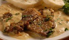 Roštenka s horčicovou omáčkou - Pluska. No Salt Recipes, Meat Recipes, Cooking Recipes, Czech Recipes, Ethnic Recipes, Y Recipe, Food Dishes, Stew, Pork