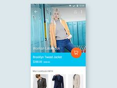 Shopping App Material Design