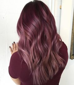 #purplehair #redhair