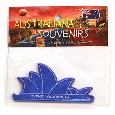 Sydney Opera House, Fridge-Magnet, Bottle-Opener   MAOH-BLUE