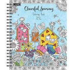 Lang Cheerful Journey Adult Coloring Book