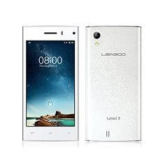 """LEAGOO Lead 3 MTK6582 Cell Phones 1.3GHz Quad Core 3G Android 4.4 Smartphone WCDMA Mobile 4.5"""" QHD IPS 4GB ROM 5MP GPS (White) - http://www.computerlaptoprepairsyork.co.uk/mobile-phones/leagoo-lead-3-mtk6582-cell-phones-1-3ghz-quad-core-3g-android-4-4-smartphone-wcdma-mobile-4-5-qhd-ips-4gb-rom-5mp-gps-white"""