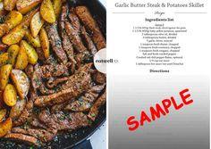 garlic-butter-steak-and-potato-skillet