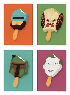 20 Insanely Great Pop Culture Popsicle Prints