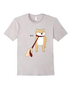 011fbaaa0a9b2f Amazon.com  Cute Shiba Inu Shirt Nope - Doge Meme T-shirt W  Clothing
