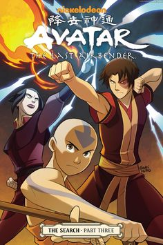 Manga Avatar: The Last Airbender - The Search - Part 3