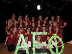 Alpha Kappa Chapter bid day!