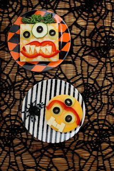 open monster face sandwiches by annieseats, via Flickr