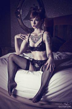 redhead model photography exhibits erotic