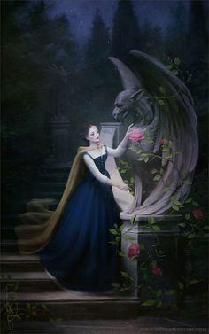 Belle by melaniedelon on DeviantArt