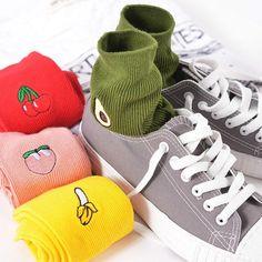 AestheticPrints® Fruity high quality socks