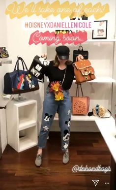 Danielle Nicole 2018 Holiday Collection Sneak Peek Disney Style, Disney Love, Danielle Nicole Disney, Disney Handbags, Fashion Handbags, Instagram Story, Blackberries, Princess, Holiday