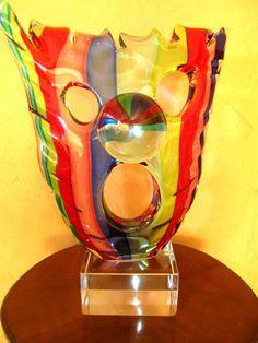 Italian Murano Glass Beautiful Art Sculpture | eBay
