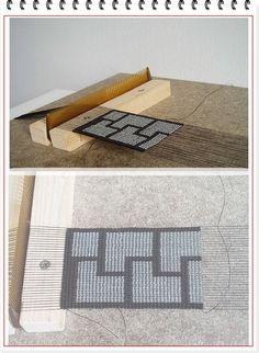 make a bead loom