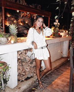 Perfect nights in Tulum. | Thank you baby for my dress!