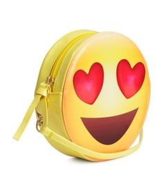 Cool gifts for kids under $15: Emoji shoulder bag at H&M | Cool Mom Picks holiday gift guide