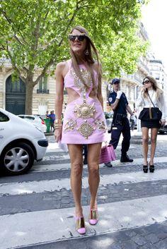 Street looks à la Fashion Week haute couture de Paris - Jour 1