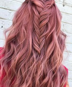 Pulp Riot Hair Color – Rose Gold - All About Hairstyles Gold Hair Colors, Hair Color Purple, Hair Dye Colors, Cool Hair Color, Pink Hair, Pastel Hair Colors, Rose Gold Toner, Blond Rose, Rose Gold Hair Blonde