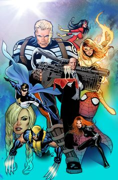 Marvel Heroes by Greg Land