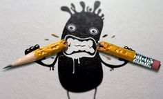 45 Brilliant Examples of Photo Manipulation Art - noupe High School Art, Middle School Art, Arte Elemental, Gb Bilder, 5th Grade Art, Arts Ed, Little Monsters, Art Lesson Plans, Art Classroom
