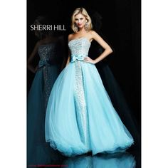 Sherri Hill  Cinderella ballgown- I wish I found this when I had formal events like room,.