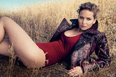 Jennifer Lawrence Photographed by Norman Jean Roy