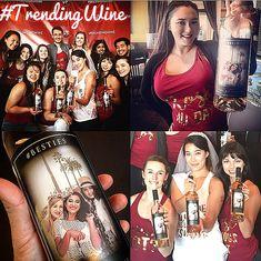 Sip #BestiesWine with your #Besties! #Bridesmaids #GirlsTrip ##TRENDING #Fashion #Wedding #Bachelorette #Wine #NapaValley #TrendingWine