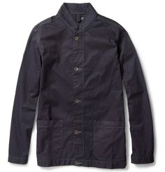 RED EAR    OVERDYED COTTON JACKET  £170