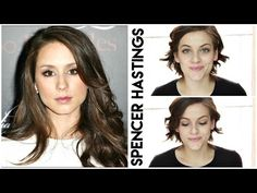 {Tutoriel} Inspiration Spencer Hastings - Pretty Little Liars - YouTube