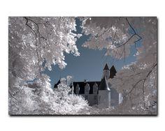 Château de Rivau / Pascal Girault. Infrarouge numérique