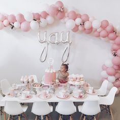 PRETTY IN PINK SECOND BIRTHDAY