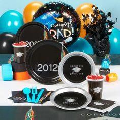 Congrats Graduate,  Graduation Party Supplies. More formal look